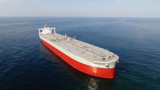 Delivery of 311,000 DWT-type VLCC KISOGAWA